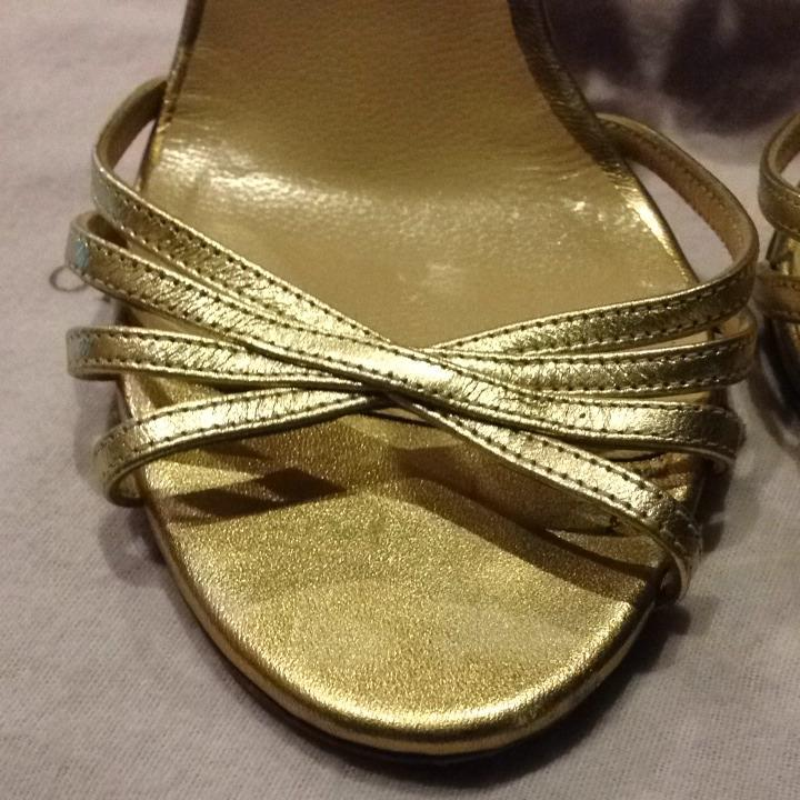 les chaussures jimmy choo or or choo formelle nous 7.5 taille aaaac8