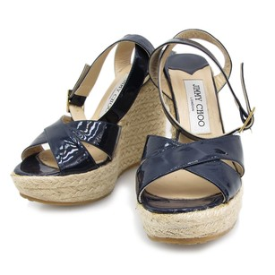 Jimmy Choo Navy Sandals