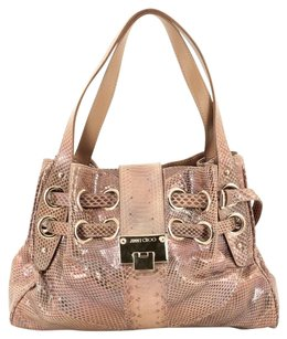 Jimmy Choo Rare Hobo Satchel Shoulder Bag