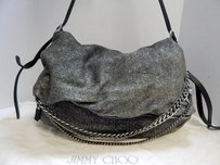 Jimmy Choo Biker Deep Shoulder Bag