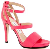 Jimmy Choo Dose Leather Pink Pumps