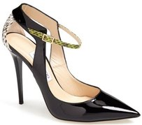 Jimmy Choo Maiden Pointy Toe Black Pumps