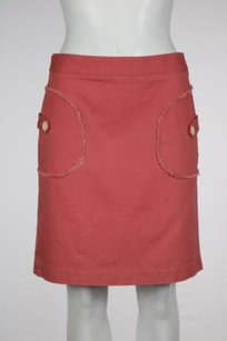 J.McLaughlin J Womens Casual Above Knee Skirt Salmon