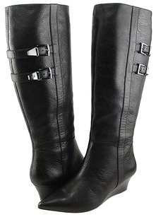 Joan & David Sofft Annora Leather Black Boots