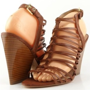 Joan & David Victoria Brown Platforms