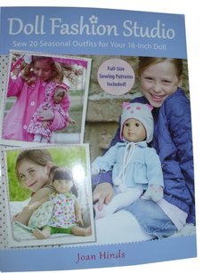 jOAN HINDS Book: Doll fashion seasonal outfits for dolls babies infants stuffed animals DIY make to use gift sell handmade occassion