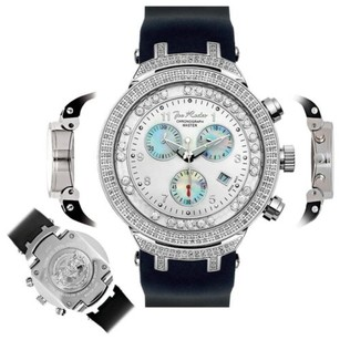 Joe Rodeo Mens Diamond Watch Joe Rodeo Master Jjms1w 2.20 Ct Chronograph Dial