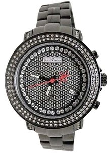 Joe Rodeo Ladies Joe Rodeokc Jojo Black On Black Jro42 Diamond Watch 1.25 Ct