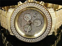 Joe Rodeo Mens 19.50 Ct Full Joe Rodeo Junior Diamond Watch Jju36