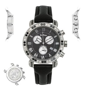 Joe Rodeo Mens Diamond Watch Joe Rodeo Classic Jcl76a Ct Black Dial White Chronograph