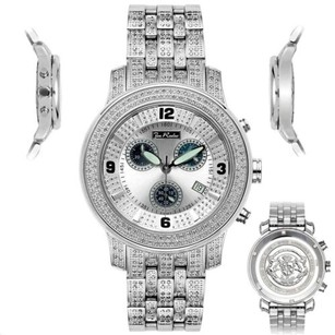 Joe Rodeo Mens Diamond Watch Joe Rodeo J2023 Fully Loaded Ct Illusion Dial