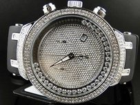 Joe Rodeo Mens Joe Rodeojojo Silver Face Master 242 Diamond Watch 2.2 Ct Jjms21w
