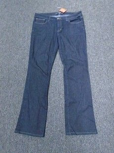 JOE'S Jeans Joes Dark Wash Cotton Blend Casual Mid Rise Mini W32 1762a Boot Cut Jeans