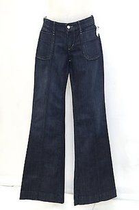 JOE'S Joes Dark Patch Trouser/Wide Leg Jeans
