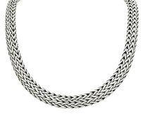 John Hardy John Hardy 925 Sterling Silver 10mm Classic Chain Necklace Inches Long N371