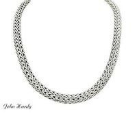 John Hardy John Hardy 925 Sterling Silver 7.50mm Classic Chain Necklace Inches Long N373