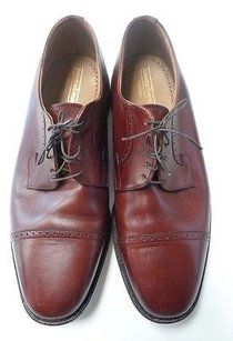 Johnston Murphy Heritage Brown Dress Lace Up Oxfords Leather B3402
