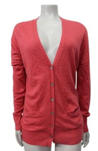 Joie Coral On Our Way Cardigan Saks Fifth Ave Sweater