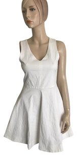 Joie short dress White on Tradesy