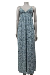 Blue Maxi Dress by Joie Tiny Floral Print