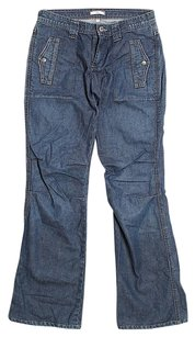 Joie Mid Rise Boot Cut Jeans
