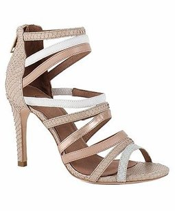 Joie Zee Strappy Hi Heel Sandals Nude/Multi Pumps
