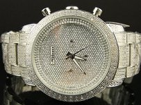 JoJino Mens Jojo Jojino Joe Rodeo Iced Out 105 Diamond Watch Mj-1000 1.05 Ct