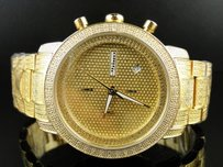 JoJino Mens Jojo Jojino Joe Rodeo Iced Out 105 Diamond Watch Mj-1000b 1.05 Ct