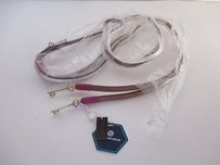 Jonathan Adler Jonathan Adler Leather Key Belt White Purple White Lxl