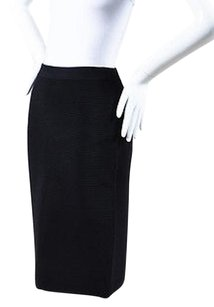 Jonathan Simkhai Ribbed Skirt Black
