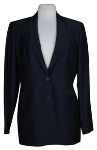 Jones New York Jones York Womens Navy Blazer Long Sleeve Jacket