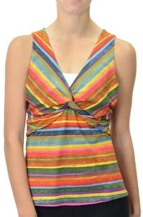 Joseph Ribkoff Twist Front Top Multi-Color