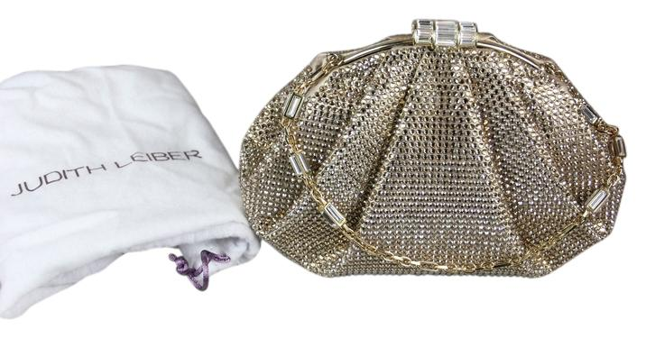 Judith Leiber Enchanted Allover Beaded Pochette Clutch Bag IorbGApyE