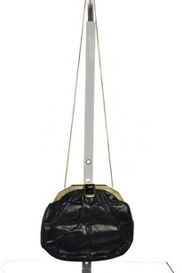Judith Leiber Womens Black Clutch