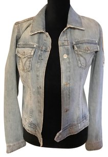 Juicy Couture blue washed Womens Jean Jacket