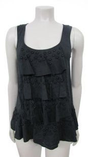 Juicy Couture Daisy Floral Top Black