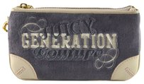 Juicy Couture Generation Velour Wristlet in Grey