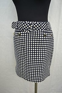 Juicy Couture White Skirt Navy