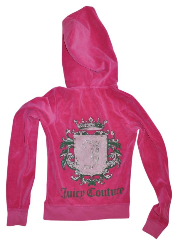 Juicy Couture Pink Velour Tracksuit Sweatsuit Pants Small Activewear