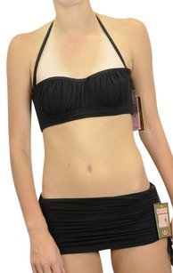 Juicy Couture S Authentic Juicy Couture Miss Softee Demi Lingerie Bikini Black Swimsuit