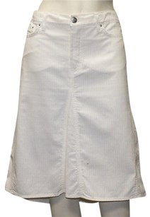Just Cavalli Blend A Line Hs1521 Skirt White