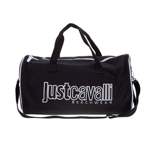 Just Cavalli Accessories Black Gym And Duffle Jc0714mhbl0688 Travel Bag