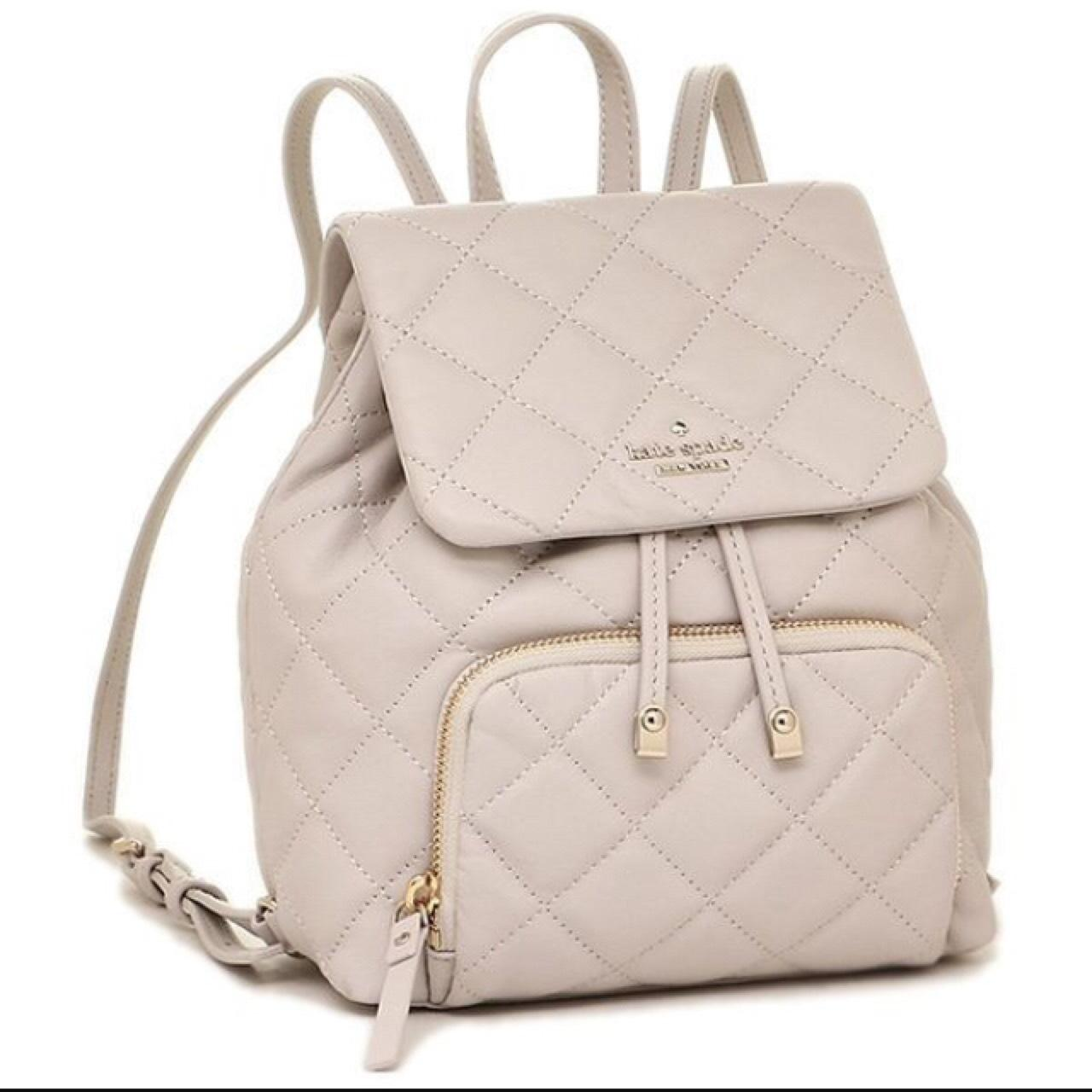 Kate Spade Jessa Quilted Mini Backpack On Tradesy