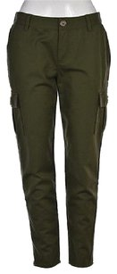 Kate Spade Womens Cargo Cargo Pants Green
