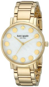 Kate Spade Kate Spade 1YRU0737 Gramercy Dot Gold-Tone Stainless Steel Watch