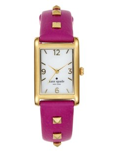 Kate Spade Kate Spade Cooper Boarskin Leather Strap Watch NWT