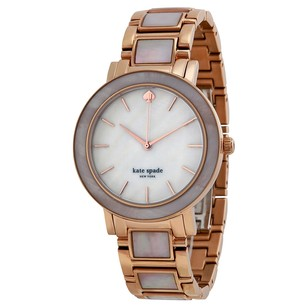 Kate Spade KATE SPADE Gramercy Mother of Pearl Dial Rose Gold-plated Ladies Watch