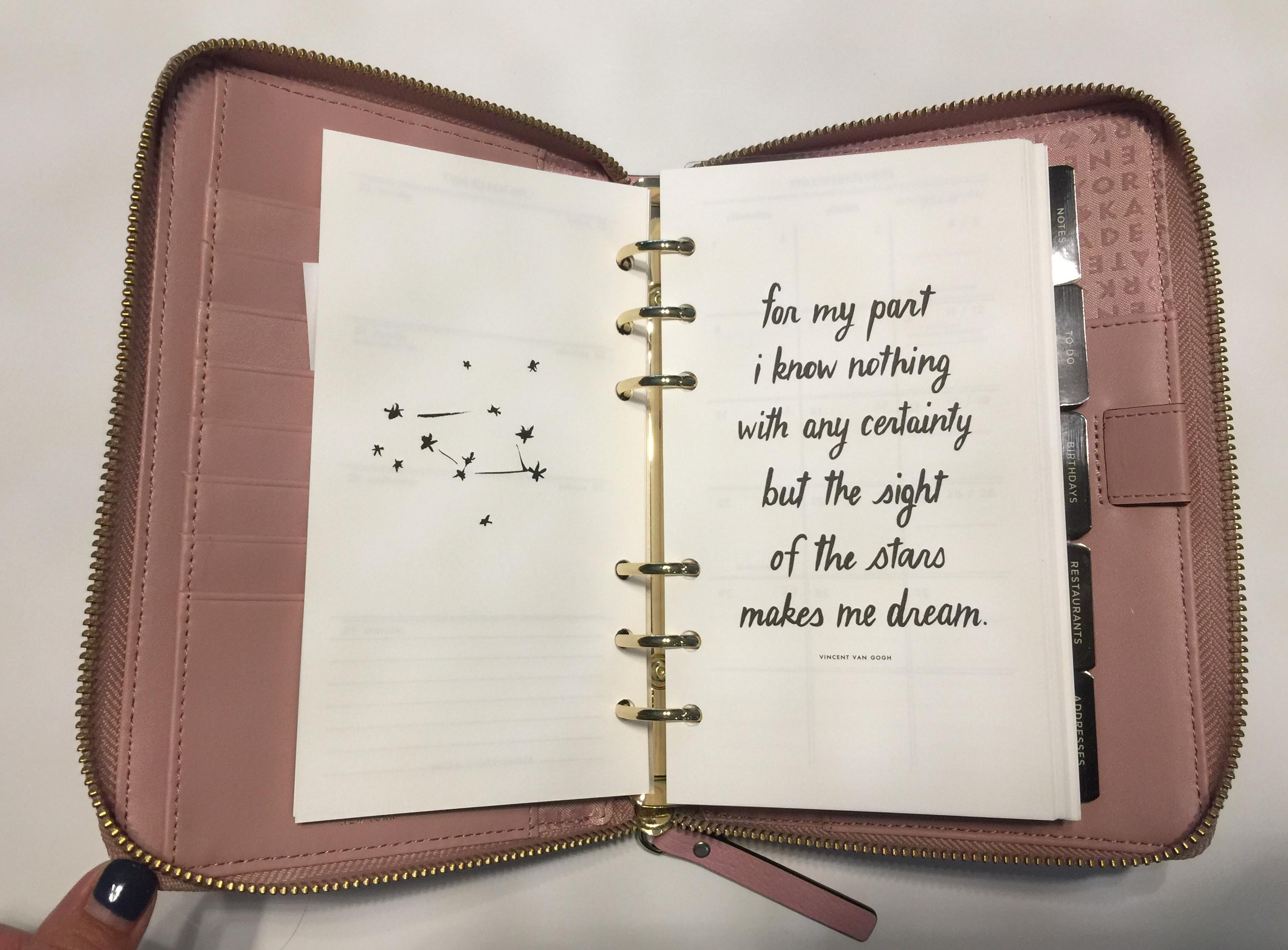 Kate Spade Planner Inserts | Allowed for you to the blog, on this period I am going to explain to you regarding Kate Spade Planner Inserts And after this, this can be the 1st photograph: Review Kate Spade Planner Refills Youtube | X