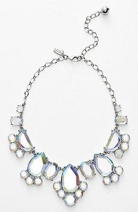 Kate Spade Kate Spade Silver Day Iridescent Tripper Bauble Bib Necklace Wbru7972