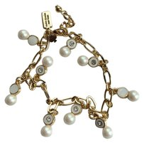 Kate Spade Pearly Delight Cream Chain Bracelet